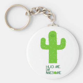 Silly Cactus Keychain
