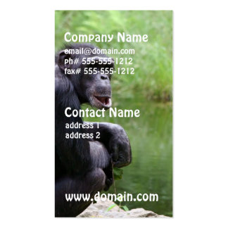 Silly Chimpanzee Business Cards
