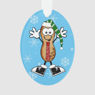 Silly Christmas Nut Ornament