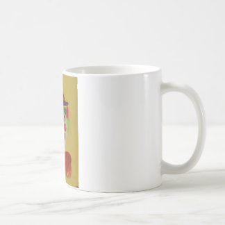Silly Clown Basic White Mug
