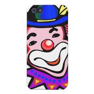 silly clown head iPhone 5 cases