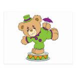 Silly Clown Teddy Bear