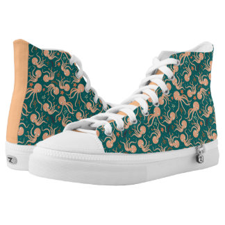 Silly Dancing Octopus High Tops