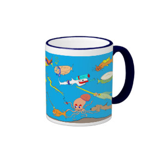 Silly Fish Cartoon Mug