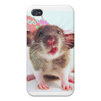 Silly Flutterby Rat iPhone 4/4S Cover