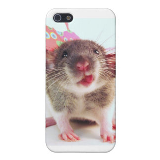 Silly Flutterby Rat iPhone 5/5S Cases