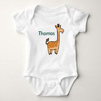 Silly Giraffe Baby Bodysuit