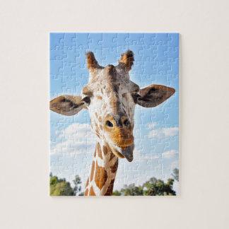 Silly Giraffe Jigsaw Puzzle