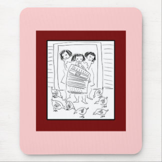 Silly Girls Mouse Pad