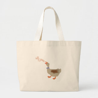 Silly Goose Tote Bags