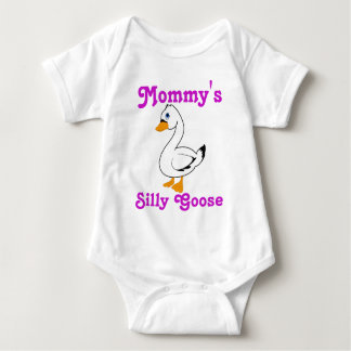 Silly Goose Custom Kids Shirt - Pink Text