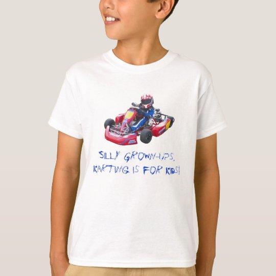 Silly Grown-Ups Kid Kart T-Shirt