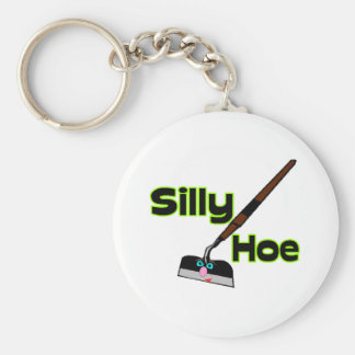 Silly Hoe Key Ring