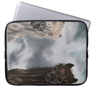"Silly Horses 15"" Laptop Case"