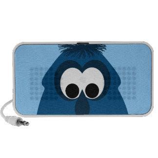 Silly Little Dark Blue Monster Notebook Speakers