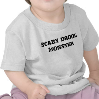 Silly Little Dark Blue Violet Monster Tee Shirts