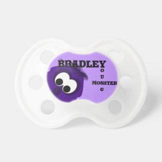 Silly Little Dark Purple Monster Pacifiers