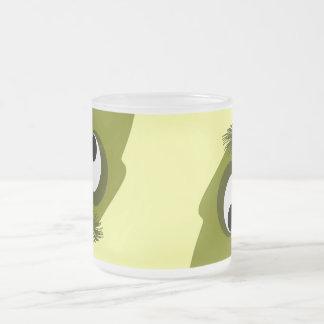 Silly Little Dark Yellow Monster Coffee Mug