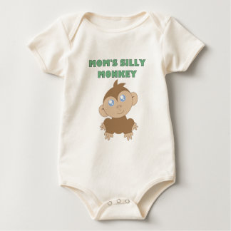 Silly Monkey - Baby American Apparel Organic Bodys Rompers
