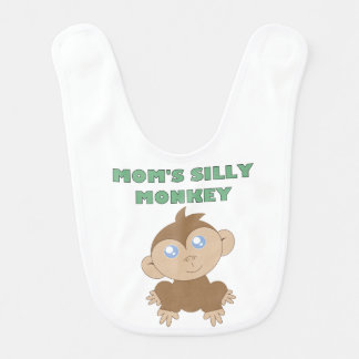 Silly Monkey - Baby Bib