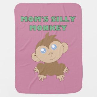 Silly Monkey - Baby Blanket