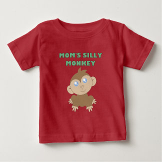 Silly Monkey - Baby Fine Jersey T-Shirt
