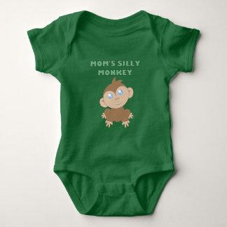 Silly Monkey - Baby Jersey Bodysuit