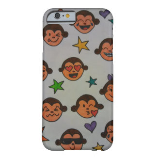 Silly Monkey emojis Barely There iPhone 6 Case