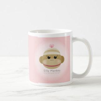 Silly Monkey Mug By Kelly Schwark Designs