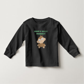 Silly Monkey - Toddler Long Sleeve T-Shirt T-shirts