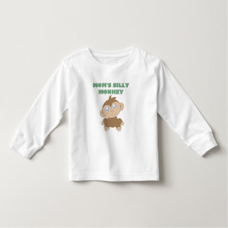 Silly Monkey - Toddler Long Sleeve T-Shirt T Shirts