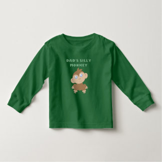 Silly Monkey - Toddler Long Sleeve T-Shirt Tees