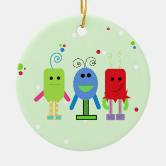 Silly Monsters Christmas Ornament