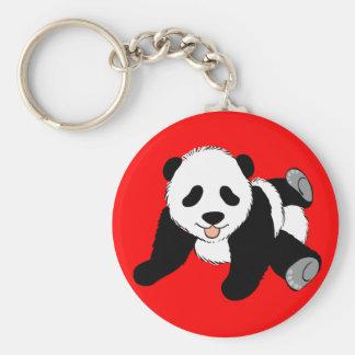 Silly Panda Key Chains