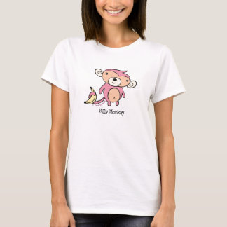 Silly Pink Monkey T-Shirt