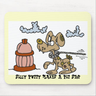 , Silly Putty Makes A Pit Stop Mouse Pad