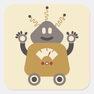 Silly Robot Sticker