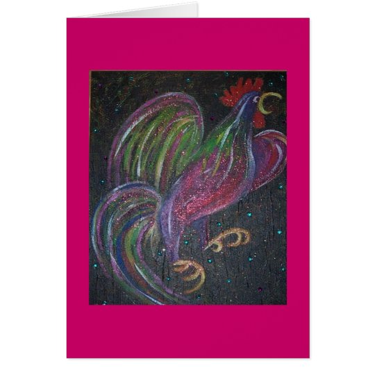 SILLY ROOSTER CARD