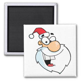 silly santa cartoon fridge magnets