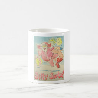 Silly Santa Christmas Design Mug