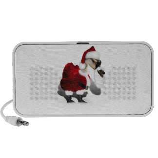 Silly Santa Goose - A Web Footed Christmas Mp3 Speakers