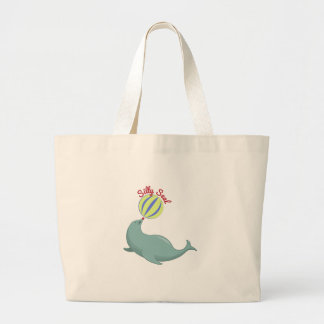 Silly Seal Tote Bag