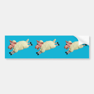 Silly Sheep Bumper Sticker