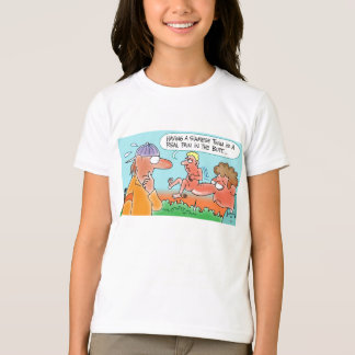 SILLY SIAMESE TWIN CARTOON T-SHIRT