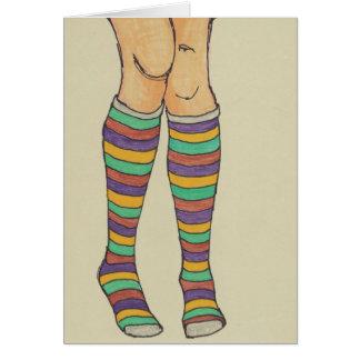 Silly Socks Card