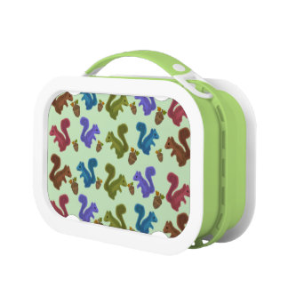 Silly Squirrels Lunch Box