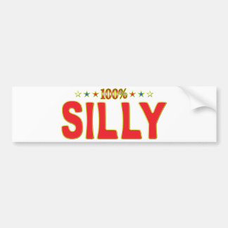 Silly Star Tag Bumper Stickers