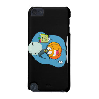 silly trick or treat halloween pumpkin character iPod touch (5th generation) cases