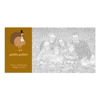 Silly Turkey Custom Photo Card