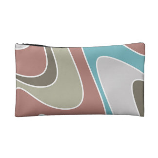 Silly waves cosmetic bag